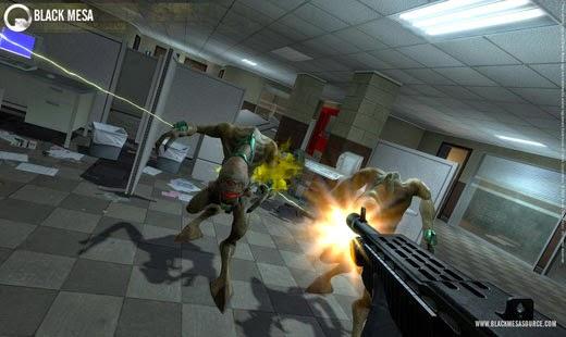 لعبة الاكشن Black Mesa