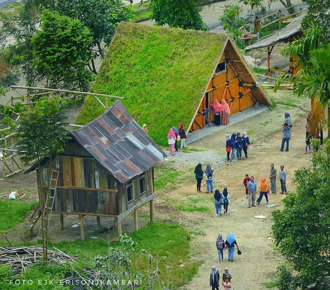 Rumah Pohon Inyiak Tempat Wisata Baru Dan Unik Di Bukit Tinggi Ayo