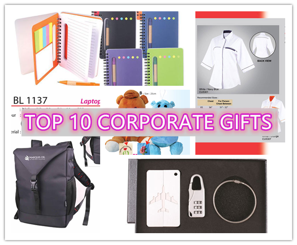 Top 10 corporate gift