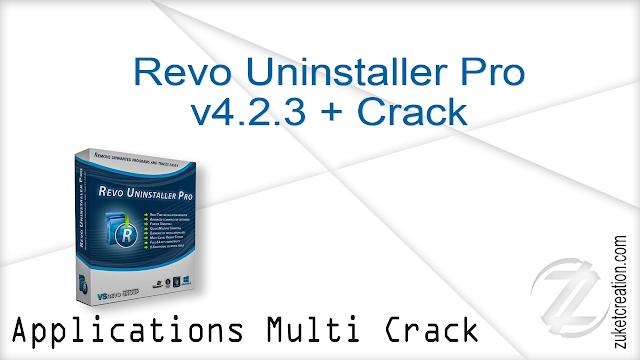Revo Uninstaller Pro v4.2.3 + Crack