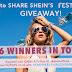 Última oportunidade para compartilhar SHEIN'S FESTIVAL Giveaway!
