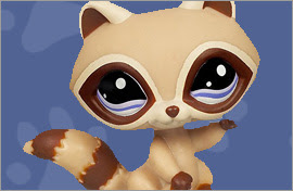 LPS Raccoon Figures