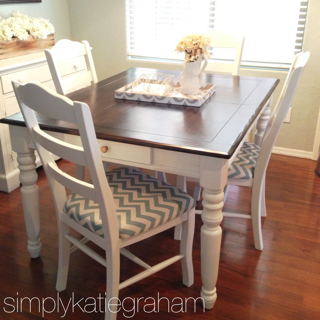 Table In Kitchen: Simply Katie : Kitchen Table