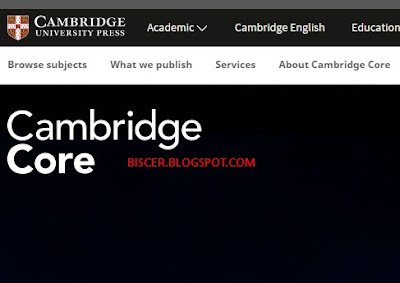jurnal internasional Cambridge Core