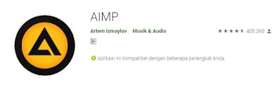 aimp pemutar musik offline Aplikasi Player Musik Offline Gratis Terbaik di Android