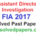Assistant Director Investigation FIA Past Papers 2017