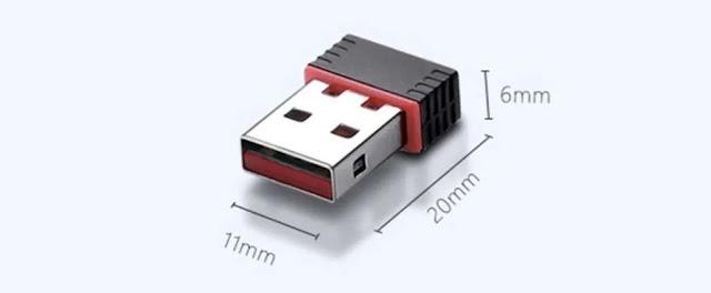Perangkat Keras Wifi Adapter USB