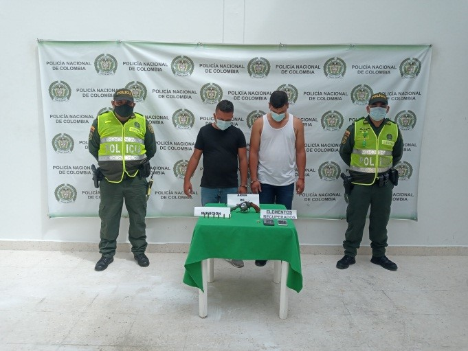 hoyennoticia.com, Dos atracadores pillados infraganti en Aguachica