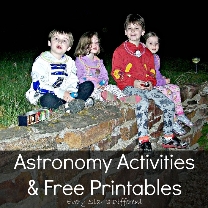 Astronomy Activities & Printables