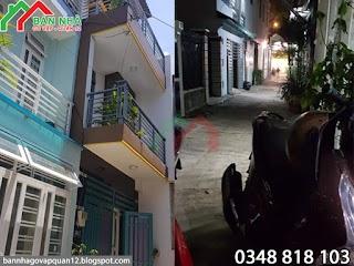 [ 4 tỷ ] Bán nhà hẻm Cây Trâm phường 8 Gò Vấp - 4x10m ( MS 009 )