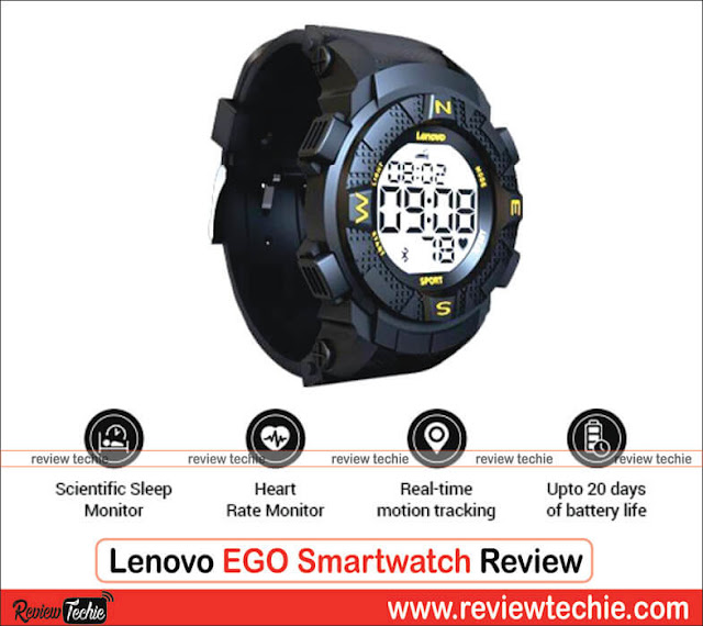 Lenovo EGO Smartwatch Review: Better than the Mi Band 3