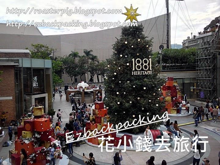 2020年1881聖誕燈飾環境