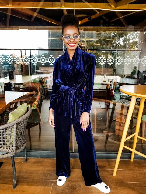 Chic Way To Wear Velvet: Women's Suits