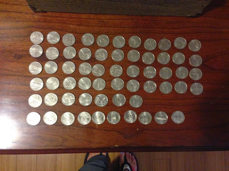 Quarters for all 50 States