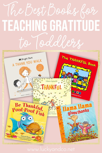 Books for Teaching Children about Gratitude and to be Thankful | Lucky & Co Life