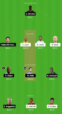 SLZ vs SKN Dream11 Team Prediction