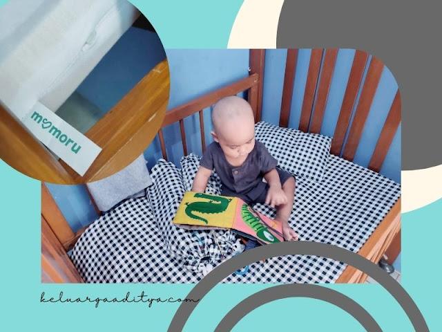 matras bayi mamoru dengan ketebalan ideal aman untuk bayi