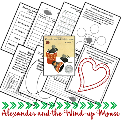 Alexander and the Wind Up Mouse is a Leo Lionni classic. In this book, students can explore friendship themes and so much more. Check out this post for ideas to use with seven of Lionni's books.
