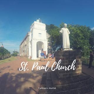 tempat wisata menarik di Melaka - St. Paul Hill