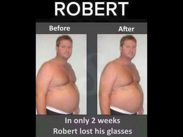 Funny Robert Amazing Weight Loss Picture