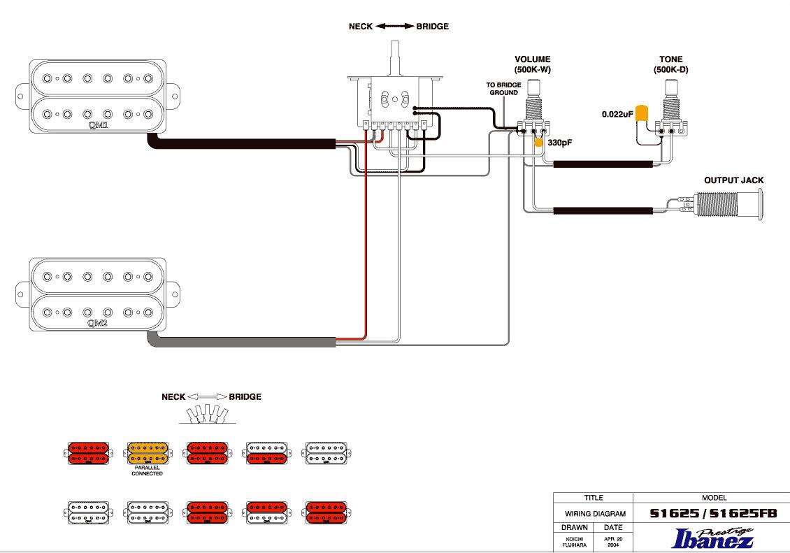 ibanez montage wiring diagram