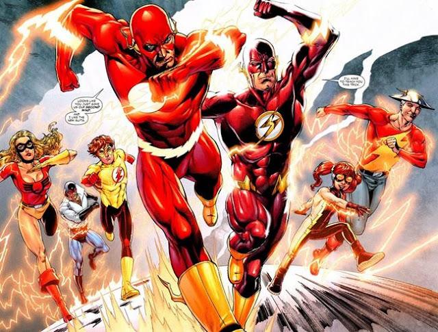 siapa the flash adalah superhero paling cepat