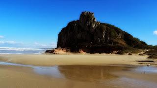 Pedra ao Lado do Morro da Guarita, Torres