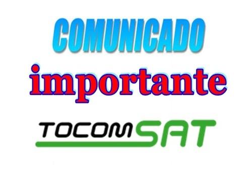 Comunicado Tocom sobre os Canais HD