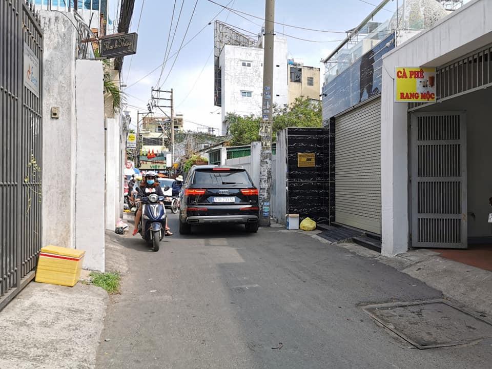 Bán nhà Mặt tiền đường Lê Trực phường 7 Quận Bình Thạnh. DT 4x16m