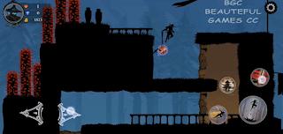 تنزيل اللعبة الرائعة على الهاتف المحمول النينجا اراشي Ninja Arashi 2