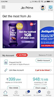 Reliance Jio offers 1GB 4G data free with Dairy Milk chocolates