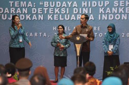 Presiden Jokowi Dorong PKK Jadi Pemandu Pembentukan SDM Unggul