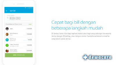 fitur split bill