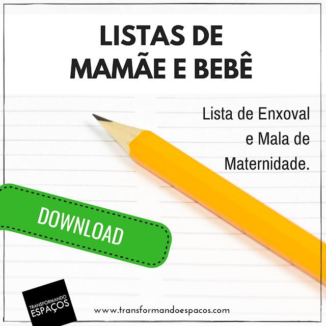 Como organizar a Lista de Enxoval e Mala de Maternidade para a mamãe e o bebê
