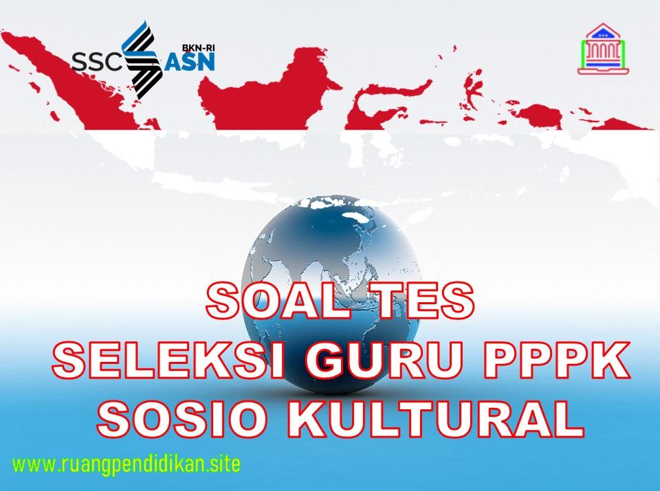 Kompetensi Integritas Sosio Kultural PPPK Guru