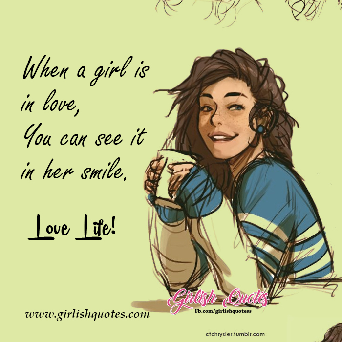 Love Life Status Love Quotes For Girls Girlish Quotes