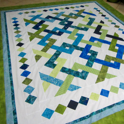 Fresh Connections Quilt - Free Pattern