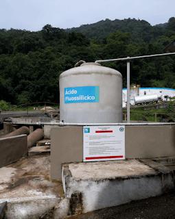 tanque de acido fluossilícico