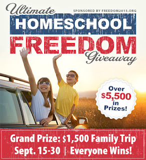 Ultimate Homeschool Freedom Giveaway