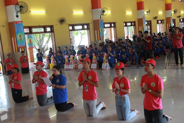 Hơn 1000 trại sinh tham dự lễ khai mạc Hội trại Tuổi trẻ Phật giáo Hệ phái Vĩnh Nghiêm lần 3 với chủ đề 'Về Nguồn' - Ảnh 11