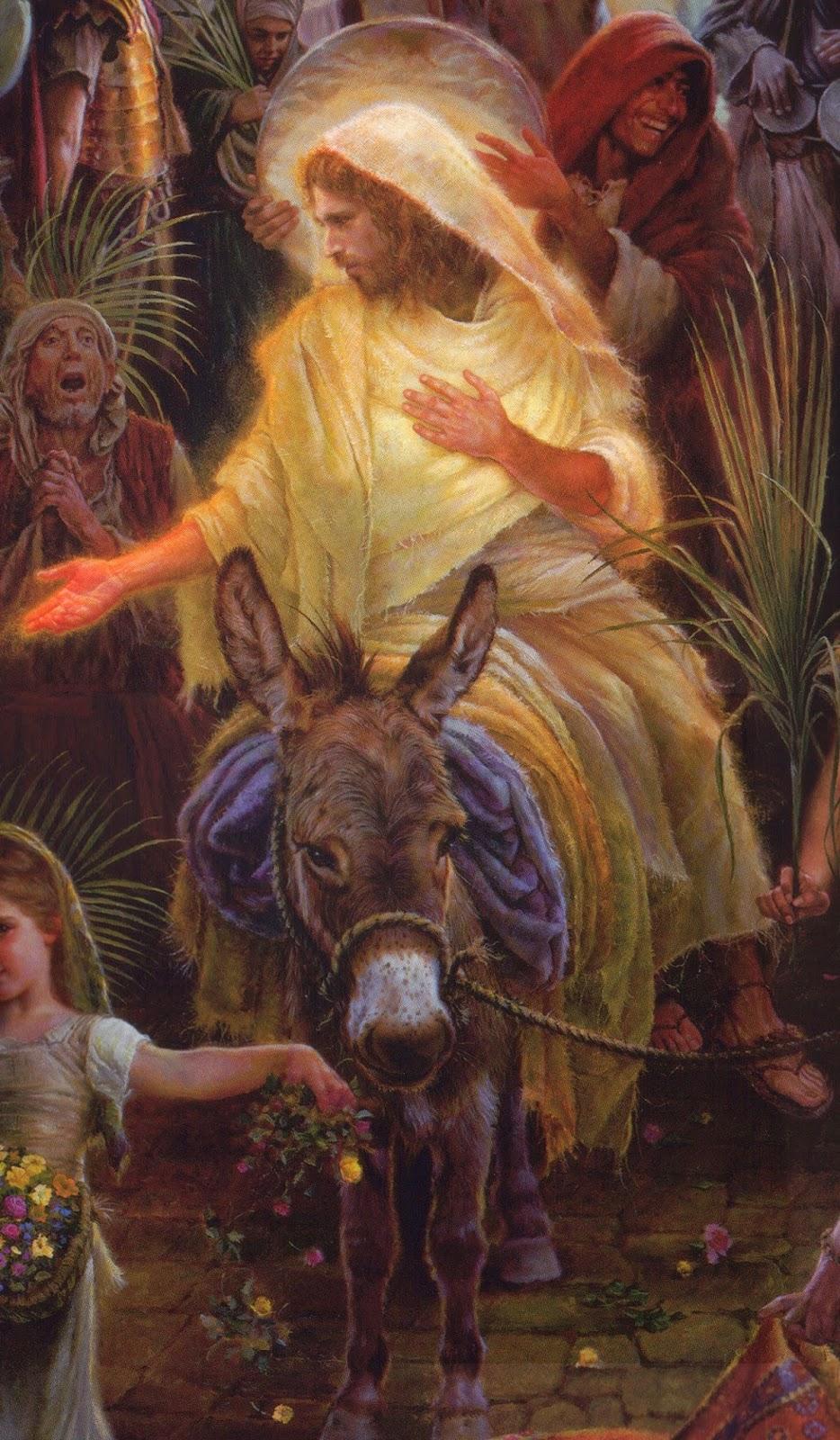 """Fear God, Love God, Serve God"": ""Triumphant Entry"""