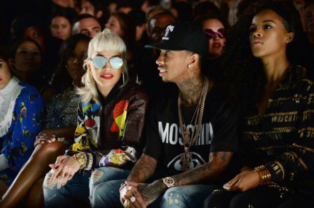 New York Fashion Week: Tyga without Kylie but accomplice with Rita Ora very décolletée