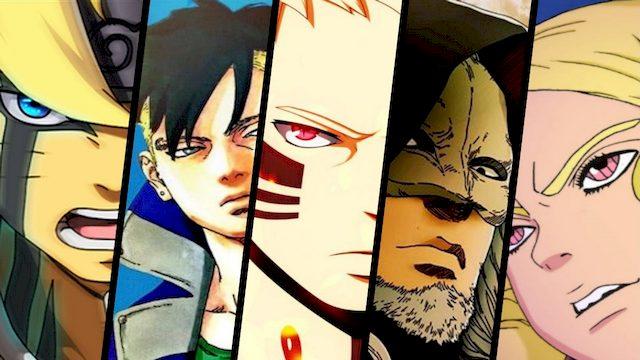 Komik Boruto Chapter 31 - Nasib Kawaki, Naruto Uzumaki Vs Organisasi Kara!