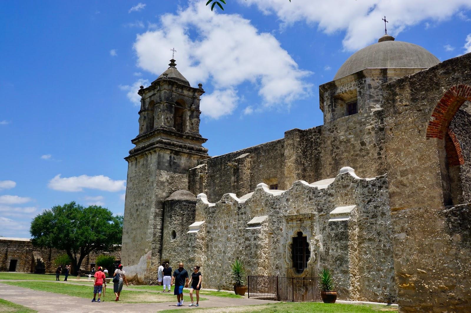 Of Golden Roses Mission San Jose San Antonio Texas