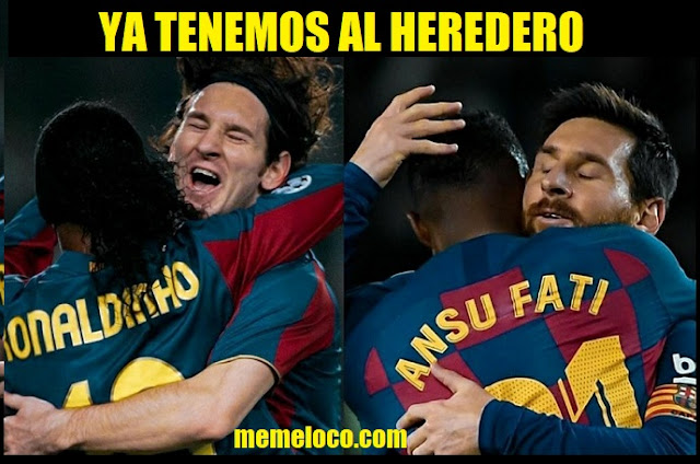 Ansu Fati el Heredero de Messi