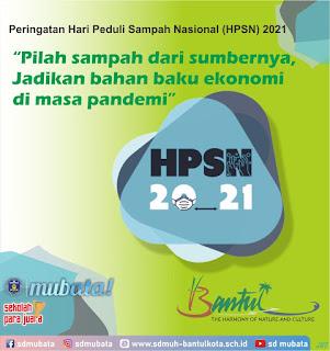 Peringatan Hari Peduli Sampah Nasional (HPSN 2021)