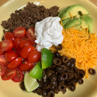 clean keto, taco bowls, cauliflower rice, keto recipes, hflc, ketogenic diet, dinner, ketosis, low carb, meals, recipe,