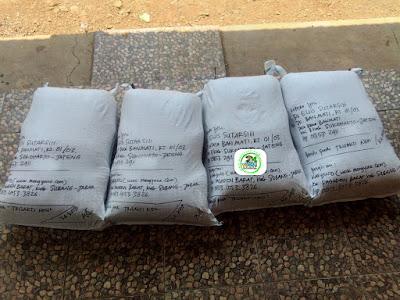 Benih padi yang dibeli    EUIS SUTARSIH Sukoharjo, Jateng.    (Sesudah di Packing).