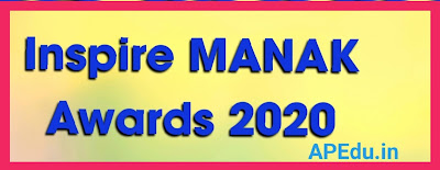 Inspire MANAK Awards 2020 List of Selected Schools / Students / Models / Projects All 13 Districts