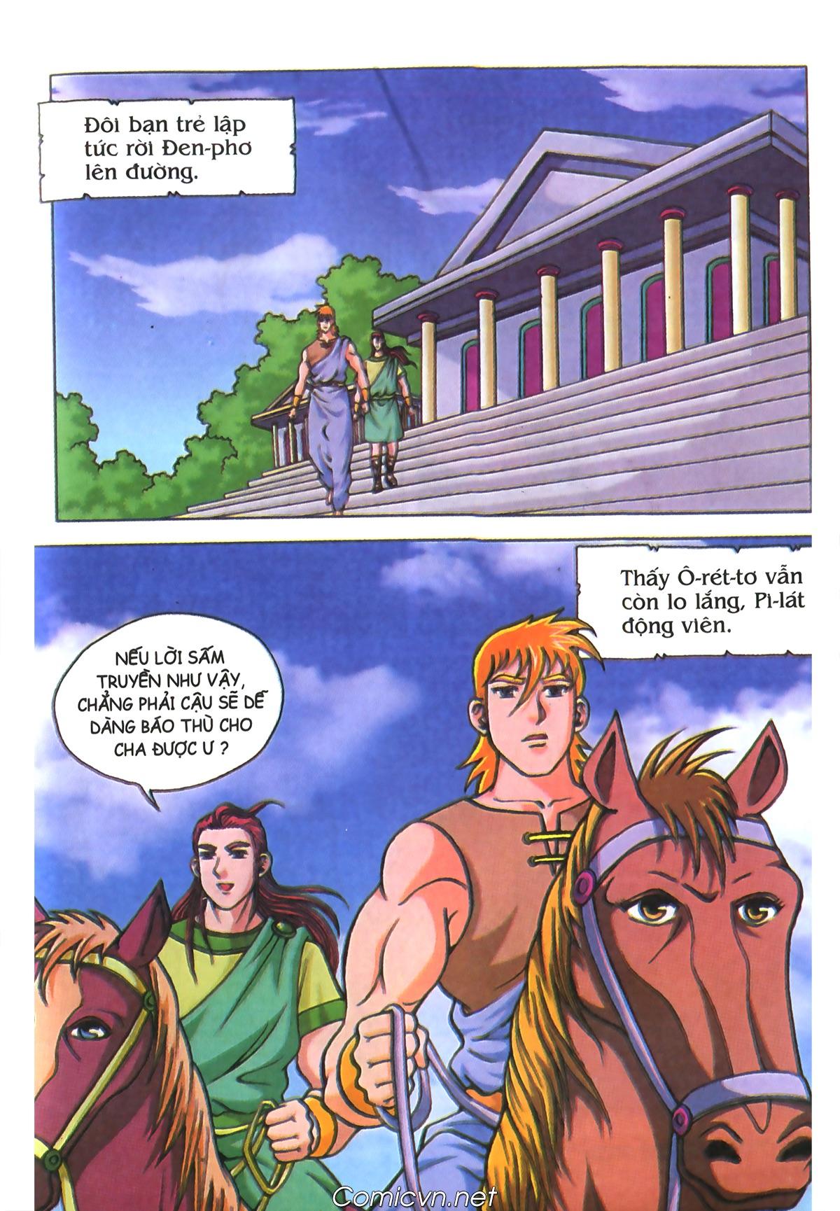 Thần Thoại Hy Lạp Màu - Chapter 70: Nàng Ê lếch tơ - Pic 36